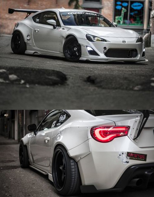 tuningteile rocket bunny style breitbau bodykit toyota gt86. Black Bedroom Furniture Sets. Home Design Ideas