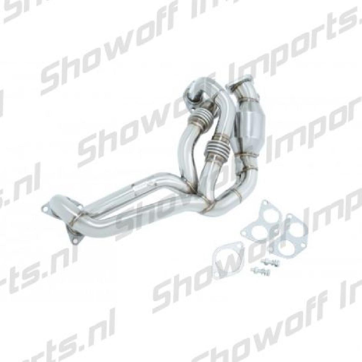 Subaru BRZ Manzo Stainless Steel Header + Cat