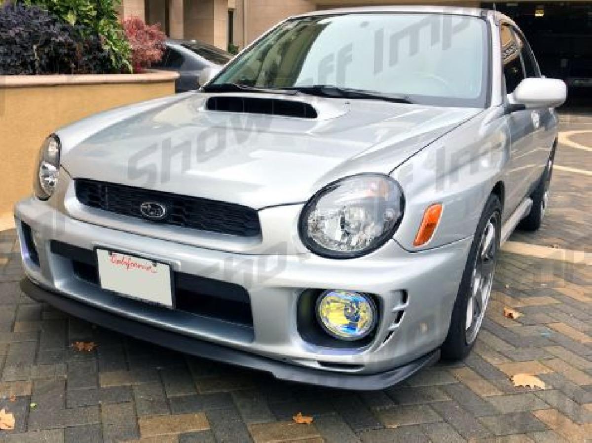 Subaru Impreza 01-02 STI WRX Front Lip