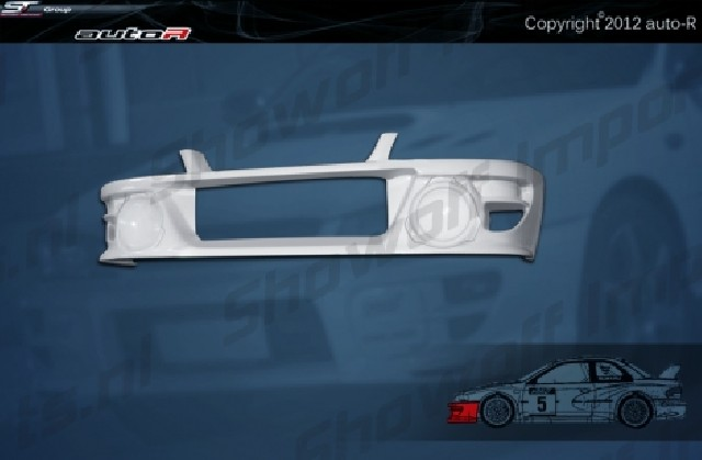Impreza 92-00 GC8 coupe B22 WRC look Front Bumper [AUTOR]