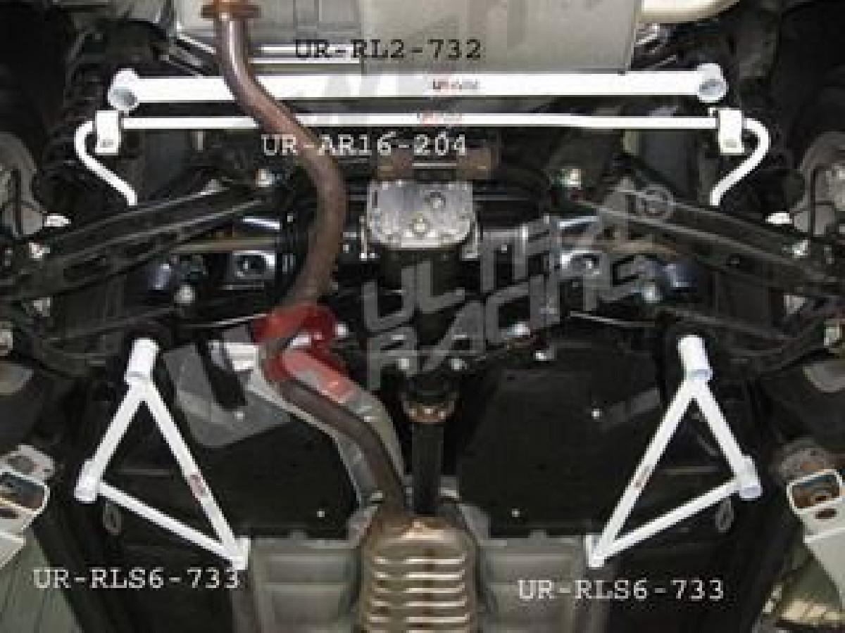 Subaru /XV 09+ UltraRacing Rear Lower Tiebar