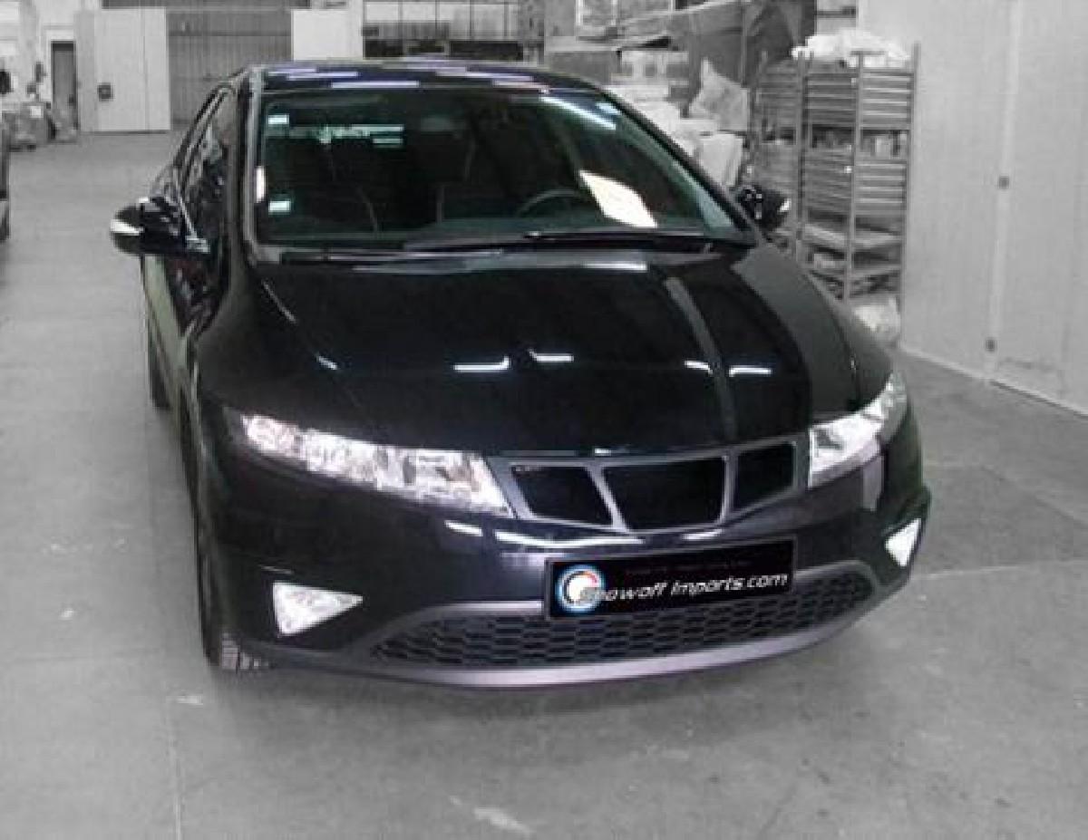 Honda Civic 06+ FN/FK 3/5D Sport Grill Carzone