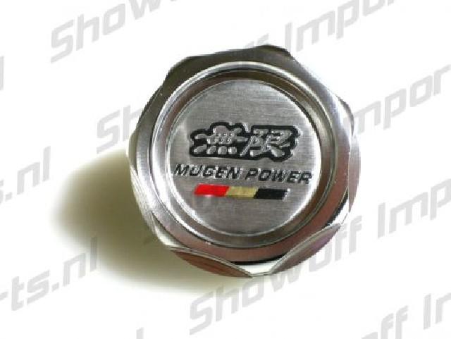 Universal Honda Mugen Style Oil Cap Silver