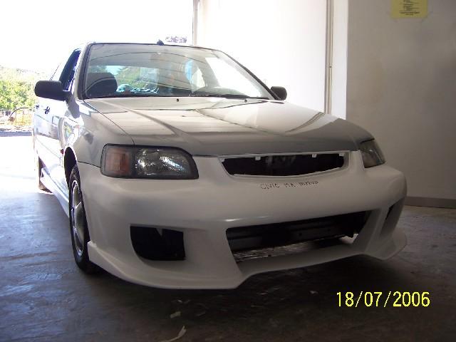 Nippontuning Frontstoßstange Honda Civic 95-98 MA8, MA9