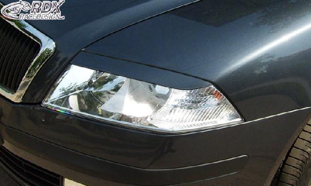 Scheinwerferblenden Skoda Octavia 1Z -2008 Böser Blick