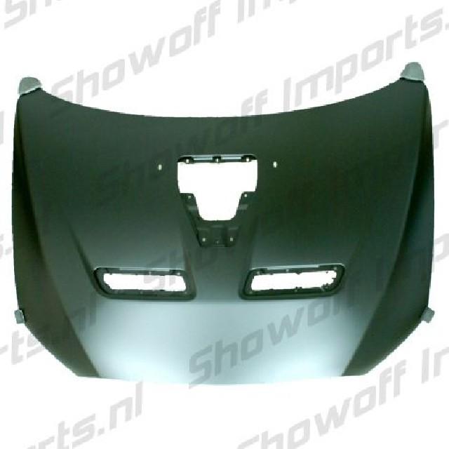 Mitsubishi Lancer 08+ Full Metal Hood EVO X Look [SIX