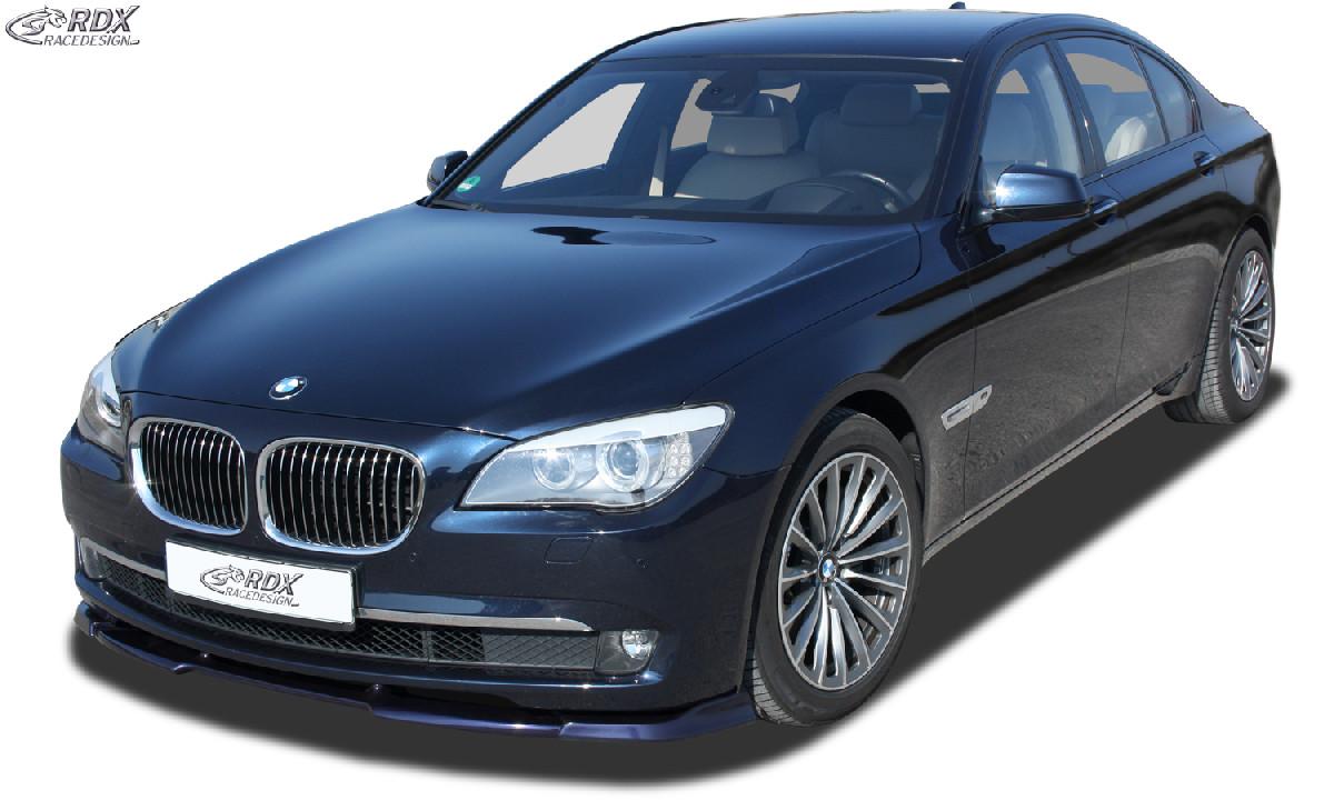 Frontspoiler VARIO-X BMW 7er F01 / F02 (-2012) Frontlippe Front Ansatz Vorne Spoilerlippe