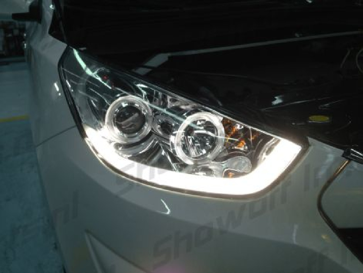 Hyundai IX35 10+ Headlights Set Clear