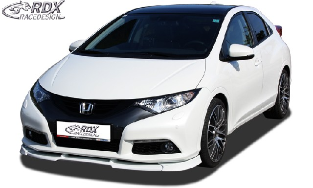 Frontspoiler VARIO-X HONDA Civic 2012+ Frontlippe Front Ansatz Vorne Spoilerlippe