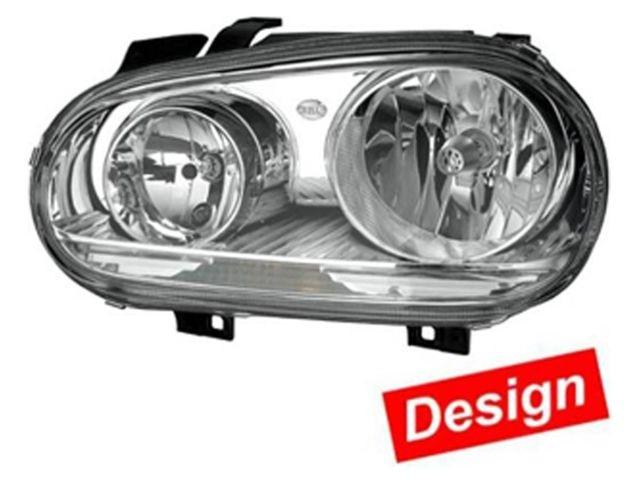 Hella Scheinwerfer VW Golf 4 Bj. ab 09/97 chrom