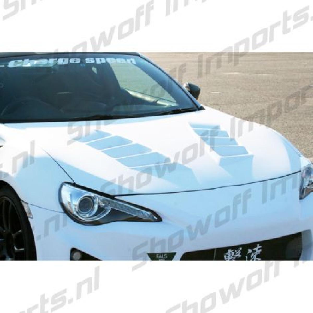 Subaru BRZ Chargespeed JDM Fiberglass Hood