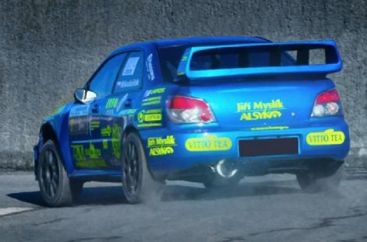 Subaru Impreza WRX 04-05 Rear Spoiler WRC Style