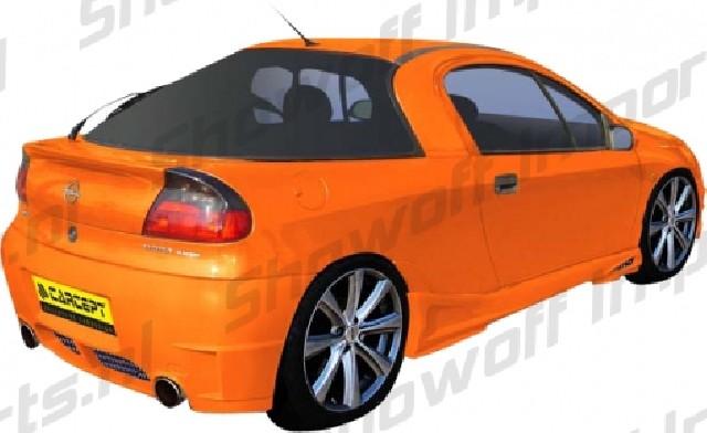 Opel Tigra A Basic Rear Bumper [Carcept]