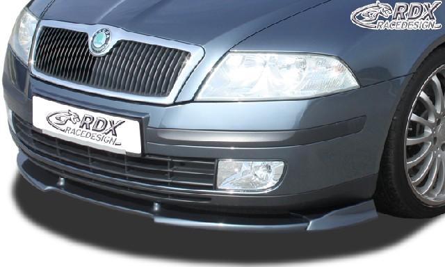 Frontspoiler VARIO-X SKODA Octavia 2 Typ 1Z -2008 (nicht RS) Frontlippe Front Ansatz Vorne Spoilerlippe