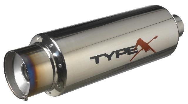 Stainless SteelUniversal Stainless Steel Muffler Bomb Titanium Tip