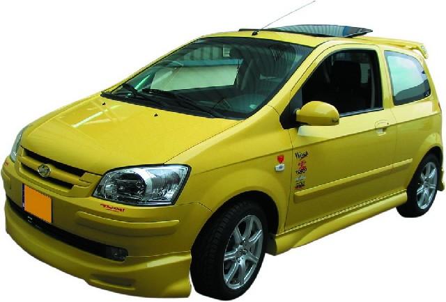 SPL-Tuning Seitenschweller Hyundai Getz