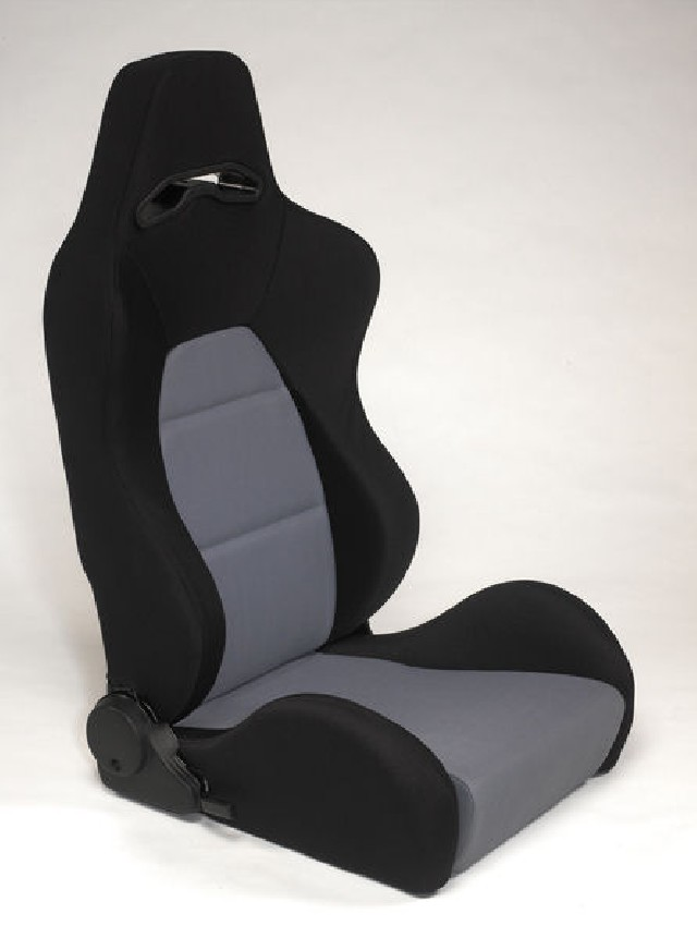 SPL-Tuning Adjustable Racing Seat Model E Grey/Black