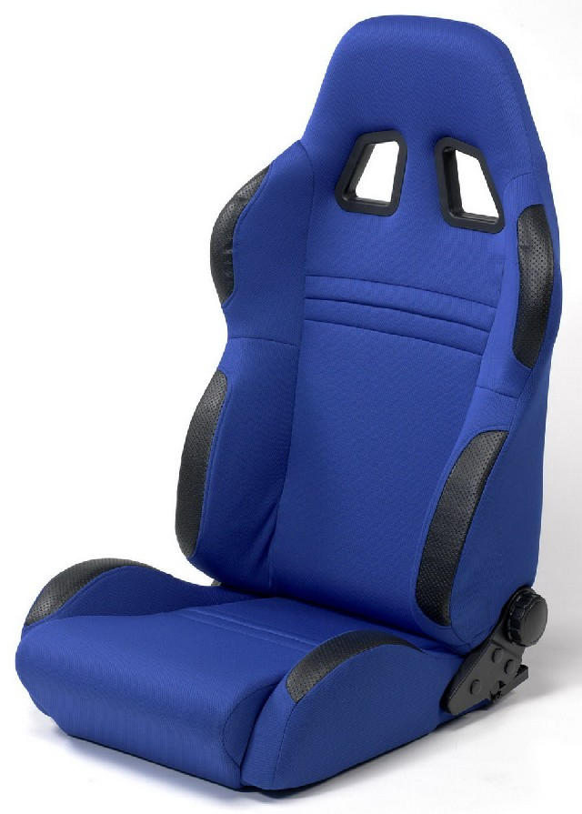 SPL-Tuning Adjustable Racing Seat Model R Blue/Black