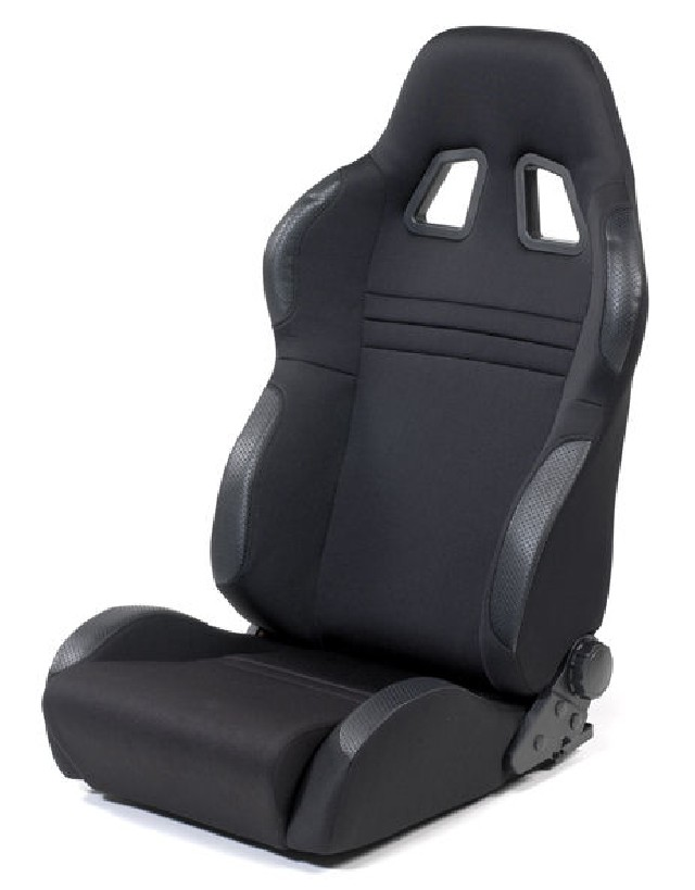 SPL-Tuning Adjustable Racing Seat Model R Black