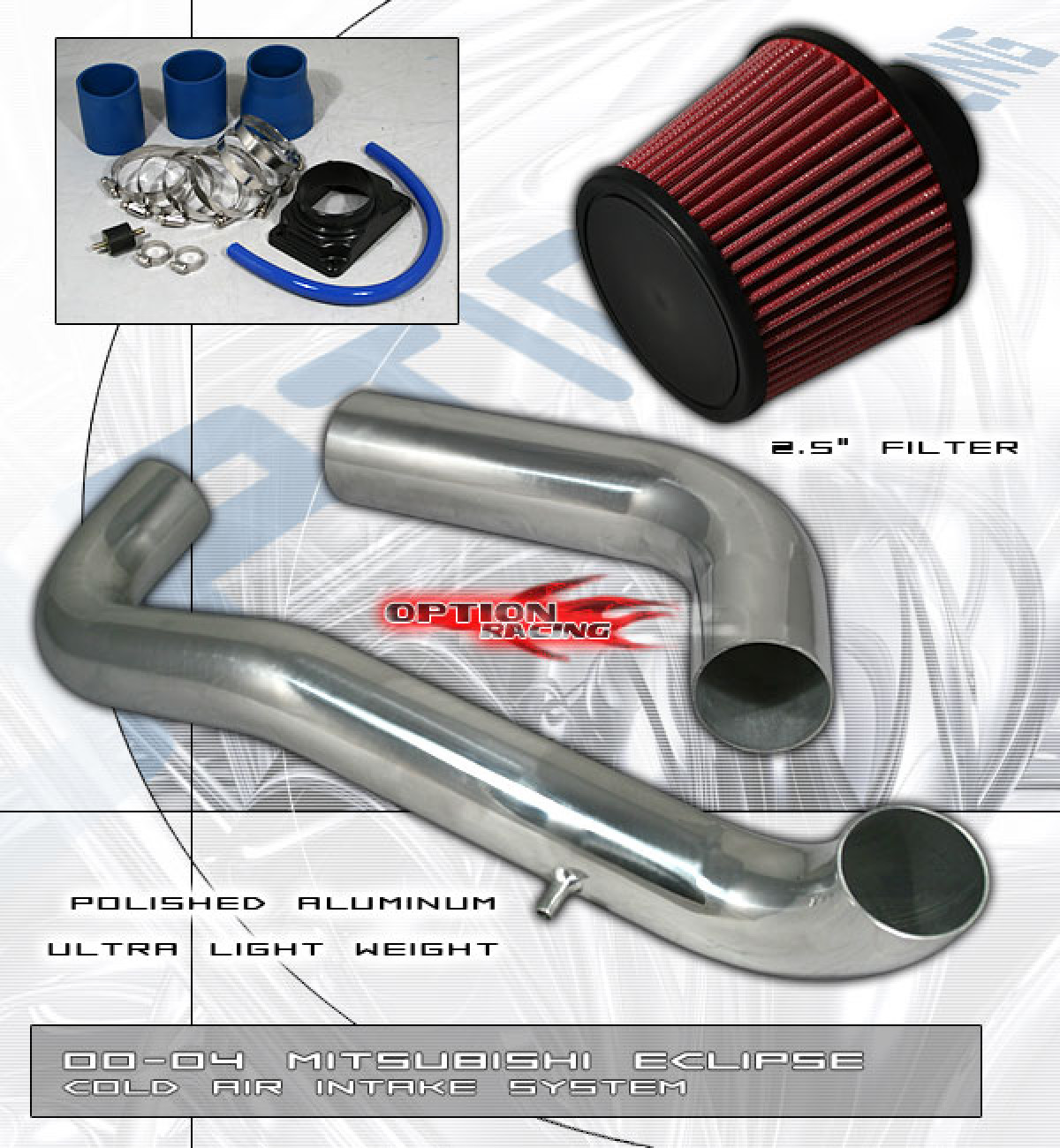 Mazda MX3 4-Cyl SIX-Performance Cold Air Intake
