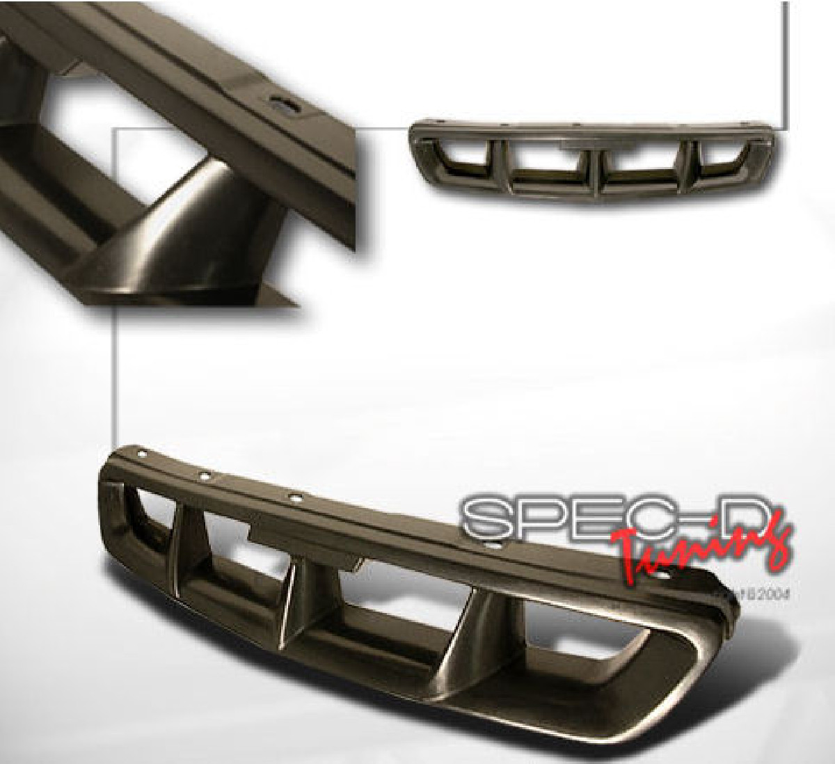 Honda Civic 96-98 Mugen Look ABS Grill