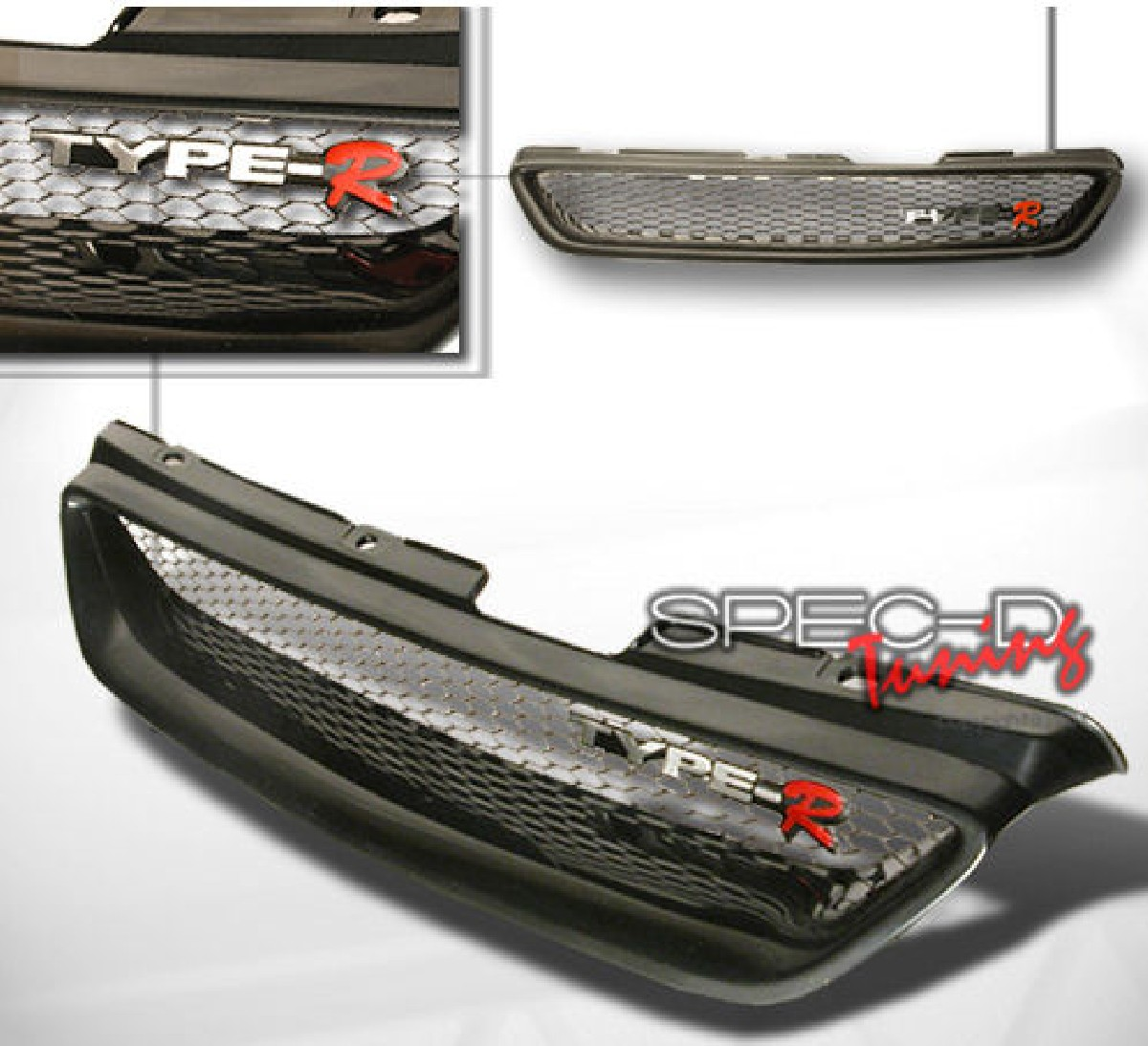 Frontgrill Honda Accord 98-02 2D Coupe ABS