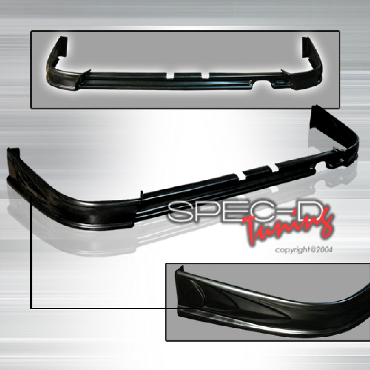 Honda Integra 98-01 ABS Rear Lip Heckansatz