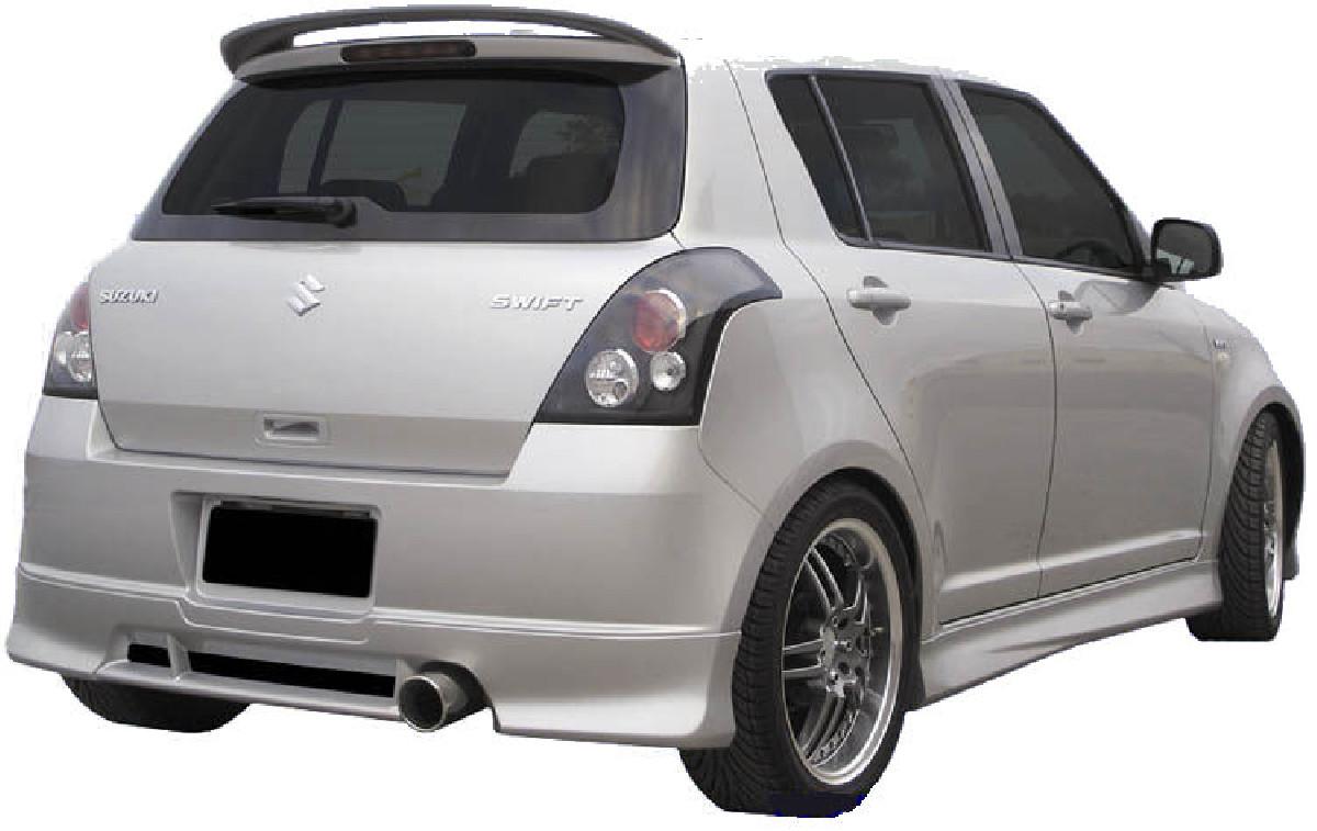 Heckansatz Suzuki Swift 05+ aus ABS