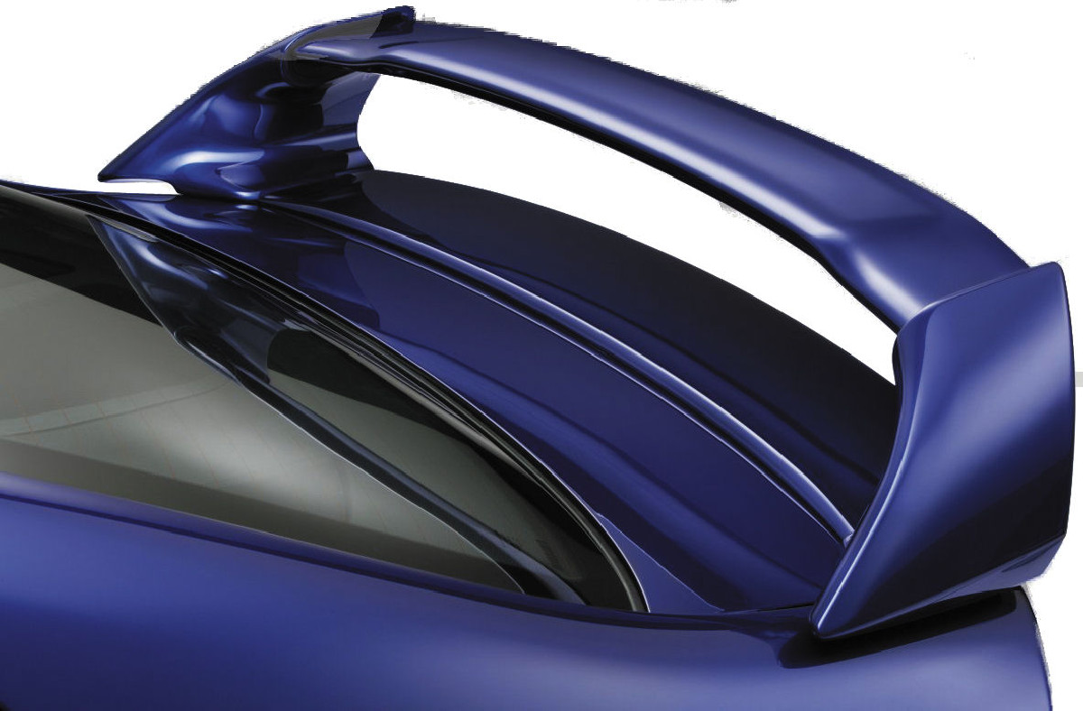 Honda Civic 4D/Hybrid 05-09  Rear Spoiler ABS Heckspoiler