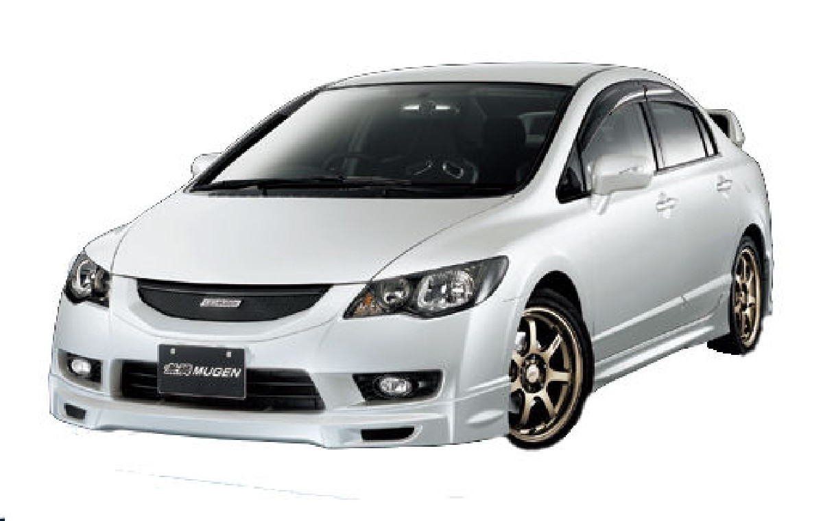 Honda Civic 4D/Hybrid 09+ Mugen Look ABS Front Lip Frontlippe