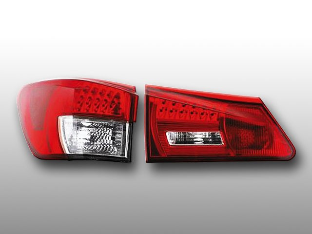 LED Rückleuchten Lexus IS250 06-08 Rot/Klar