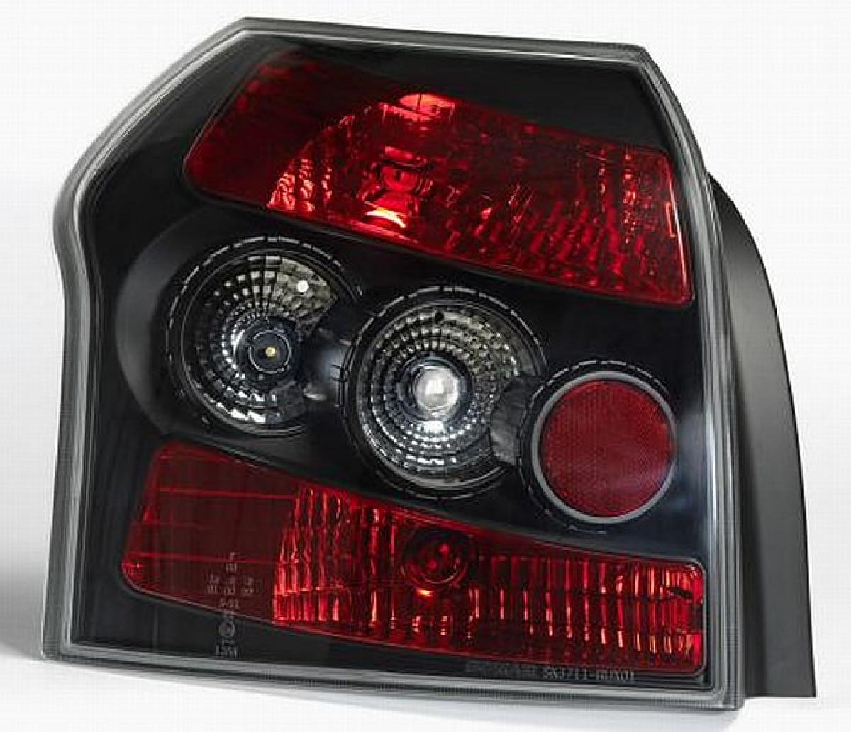 Rückleuchten Toyota Corolla E12 HB 01- Black V1
