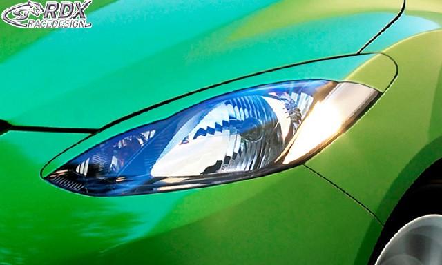 Scheinwerferblenden Mazda 2 2007-2011 Böser Blick