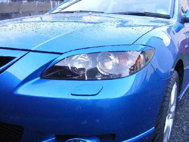 Scheinwerferblenden Mazda 3 Typ BL 4/5T Bj. 09-13 aus ABS