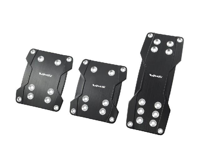 Universal VMS Pedalset Anodized Aluminium Black V4