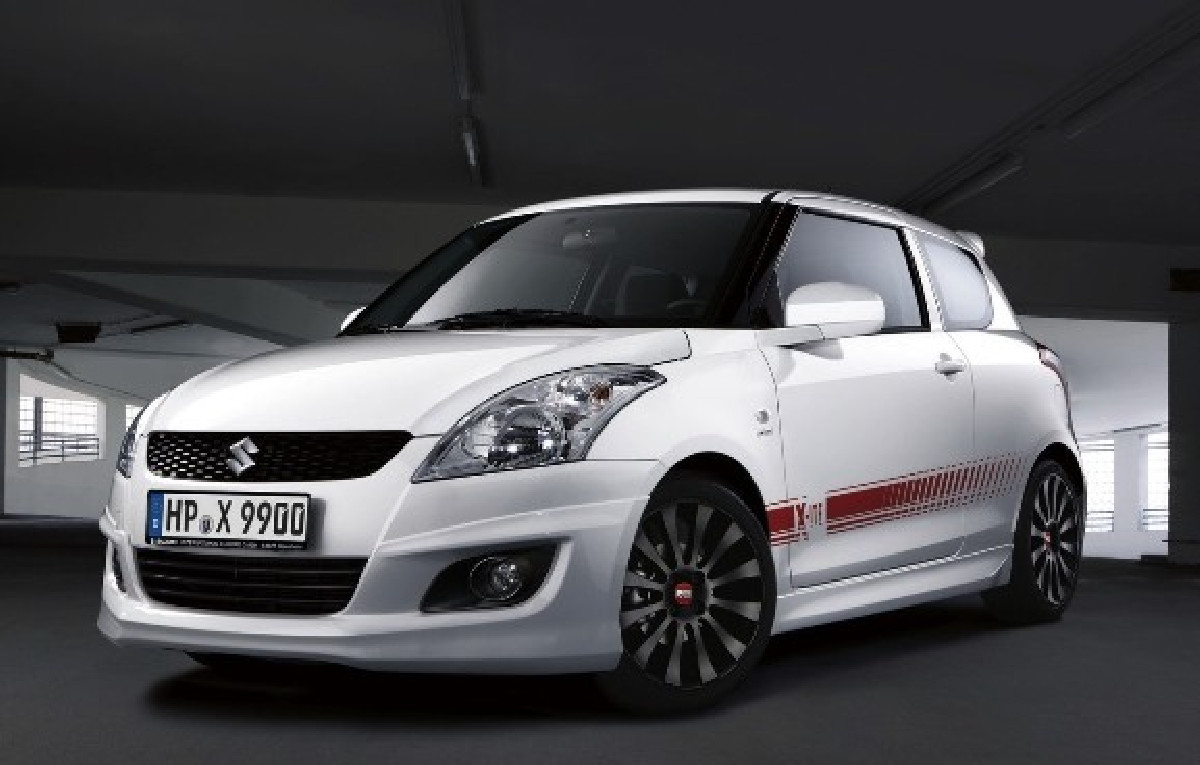 Suzuki Swift 11+ X-ITE Look ABS Front Bumperlip