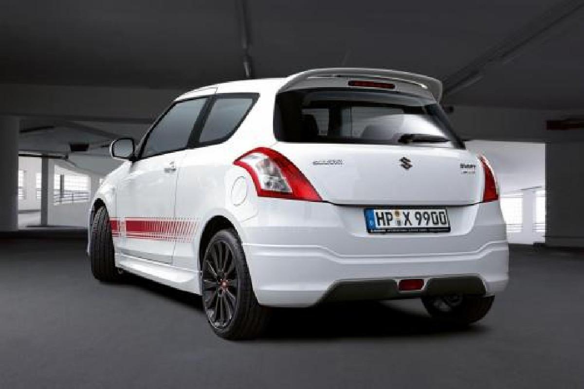 Suzuki Swift 11+ X-ITE Look ABS Rear Bumperlip Heckansatz