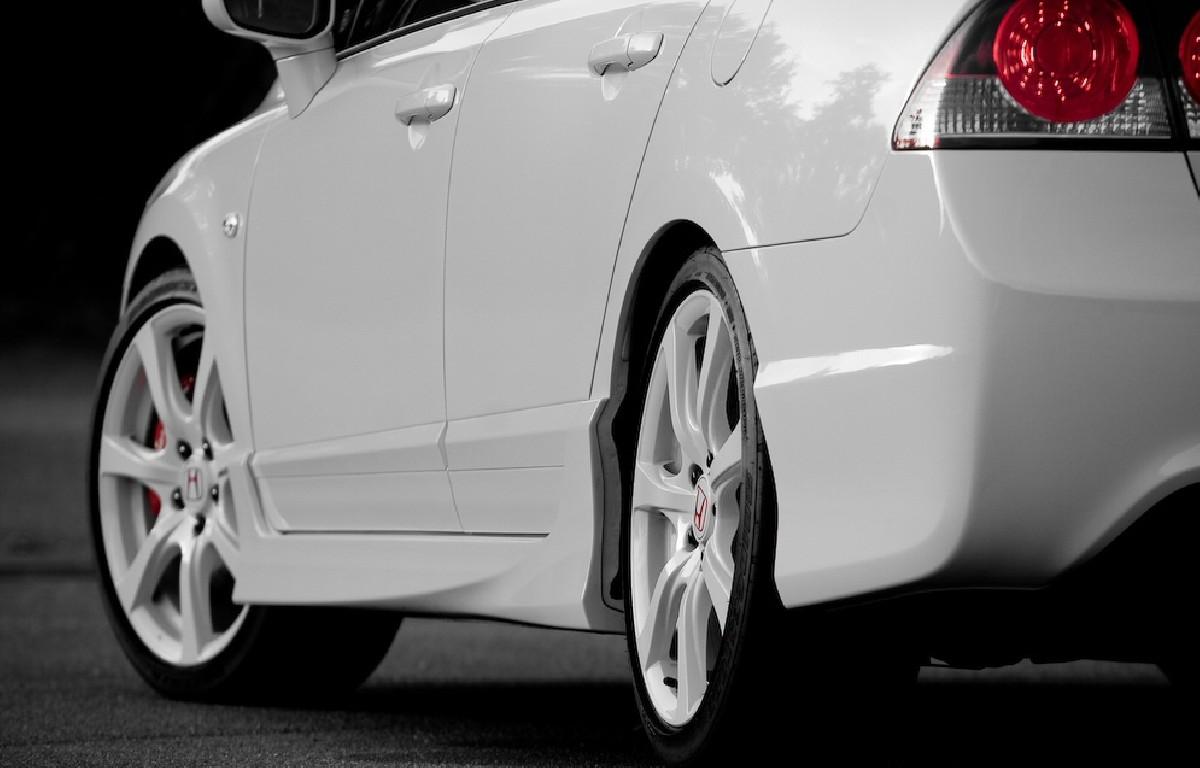 Seitenschweller Honda Civic 4D/Hybrid 05+ Type R Look PU