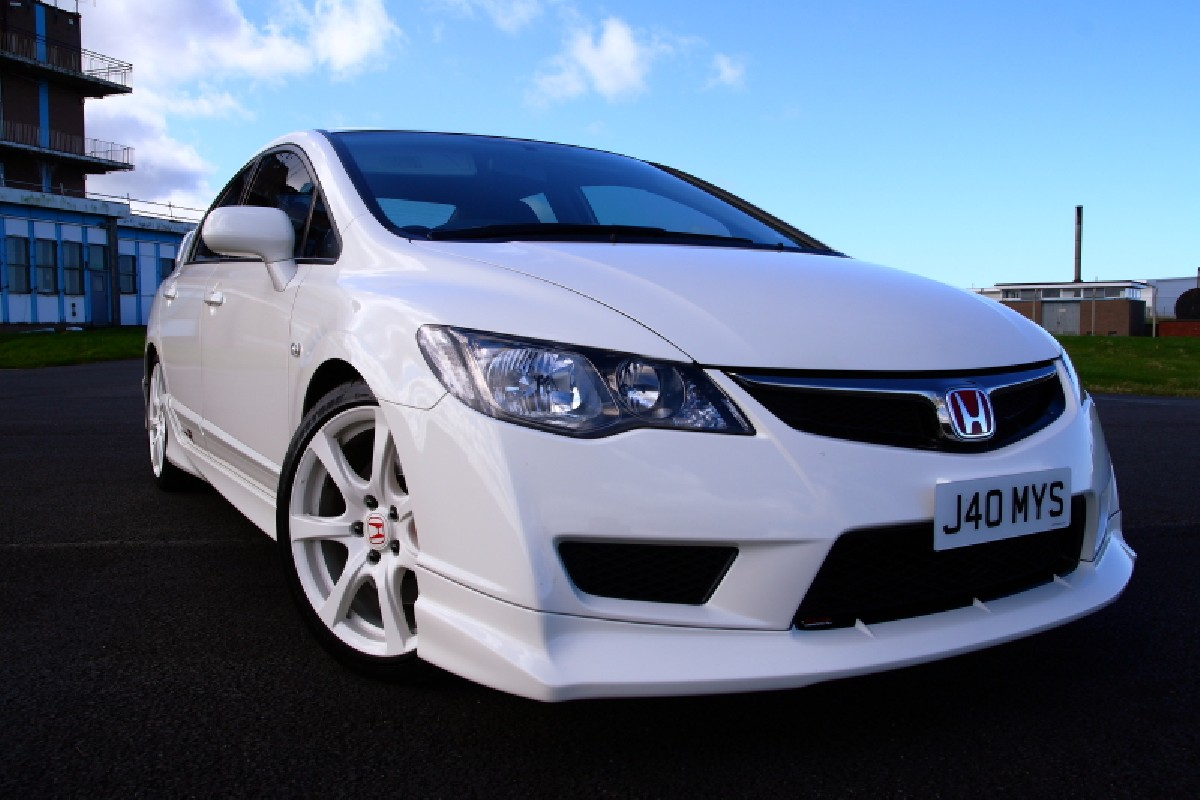 Honda Civic 4D/Hybrid 09+ Type R Look ABS Front Lip Frontlippe