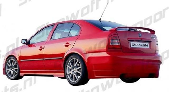 Skoda Octavia Sedan 96-04 Neo Neodesign Rear Bumper Heckstoßstange