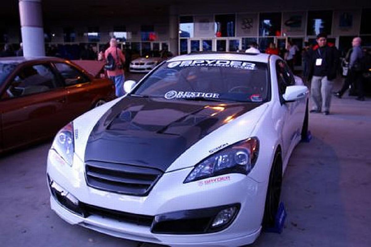 Seibon TS Carbon Motorhaube Hyundai Genesis Coupe Bj. 08-12