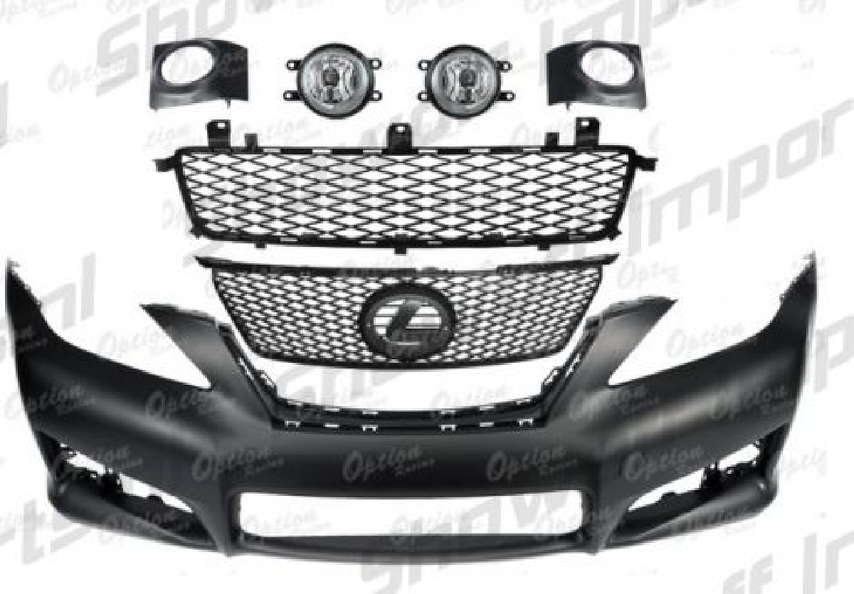Lexus IS250/350 06-08 ISF Style Front Bumper Kit - SIX
