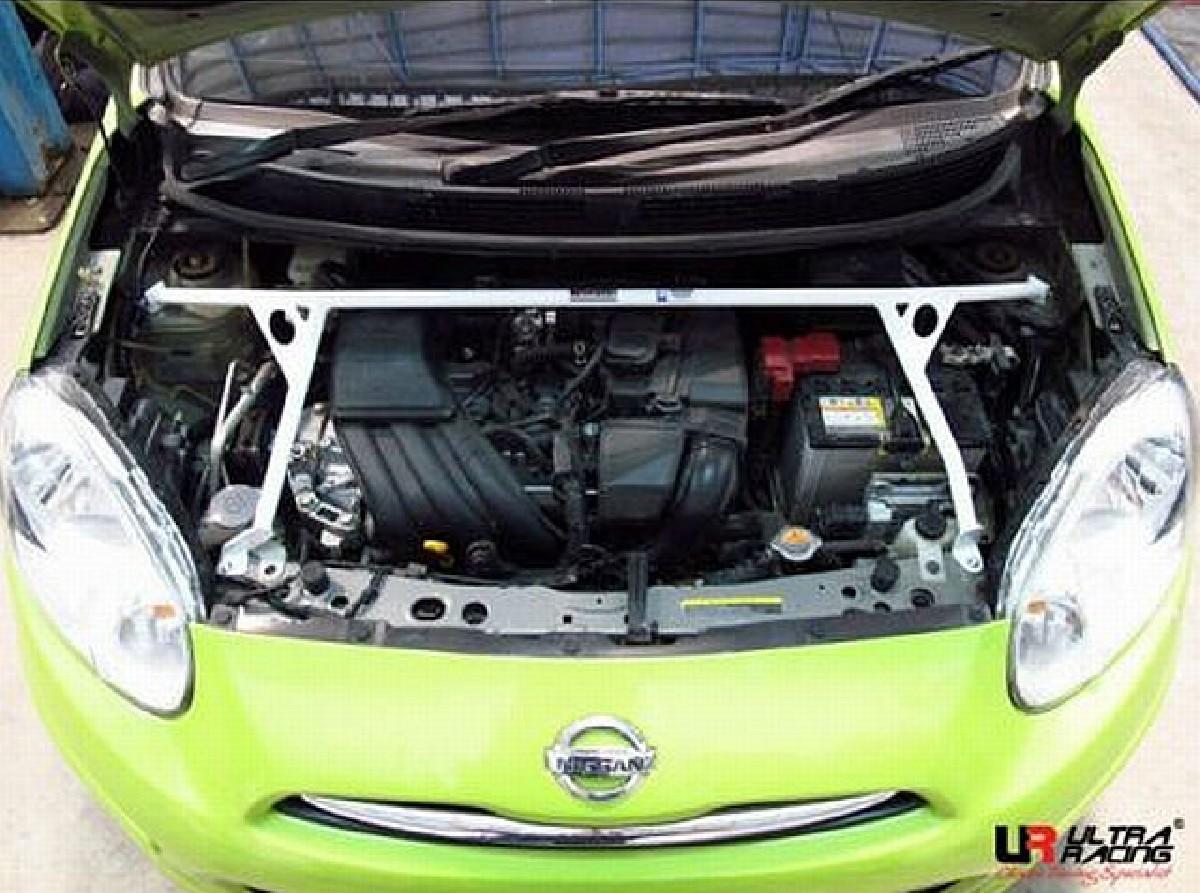 UltraRacing 4P Domstrebe Nissan Micra K13 ab Bj. 2010