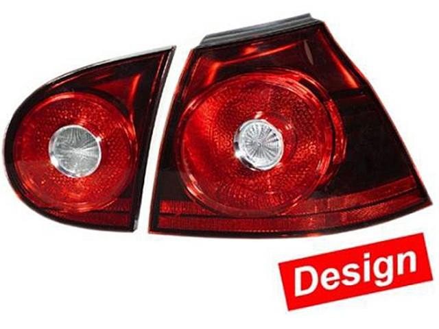 Hella Heckleuchten Set darkred VW Golf V (1K1) Bj. ab 10/03 schwarz