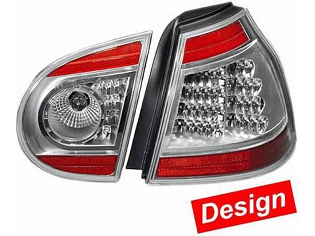 Hella LED Heckleuchten Set VW Golf 5 Bj. ab 10/03 schwarz/silber