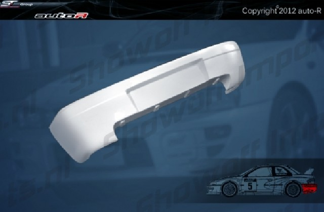 Impreza 92-00 GC8 coupe B22 WRC look Rear Bumper [AUTOR]