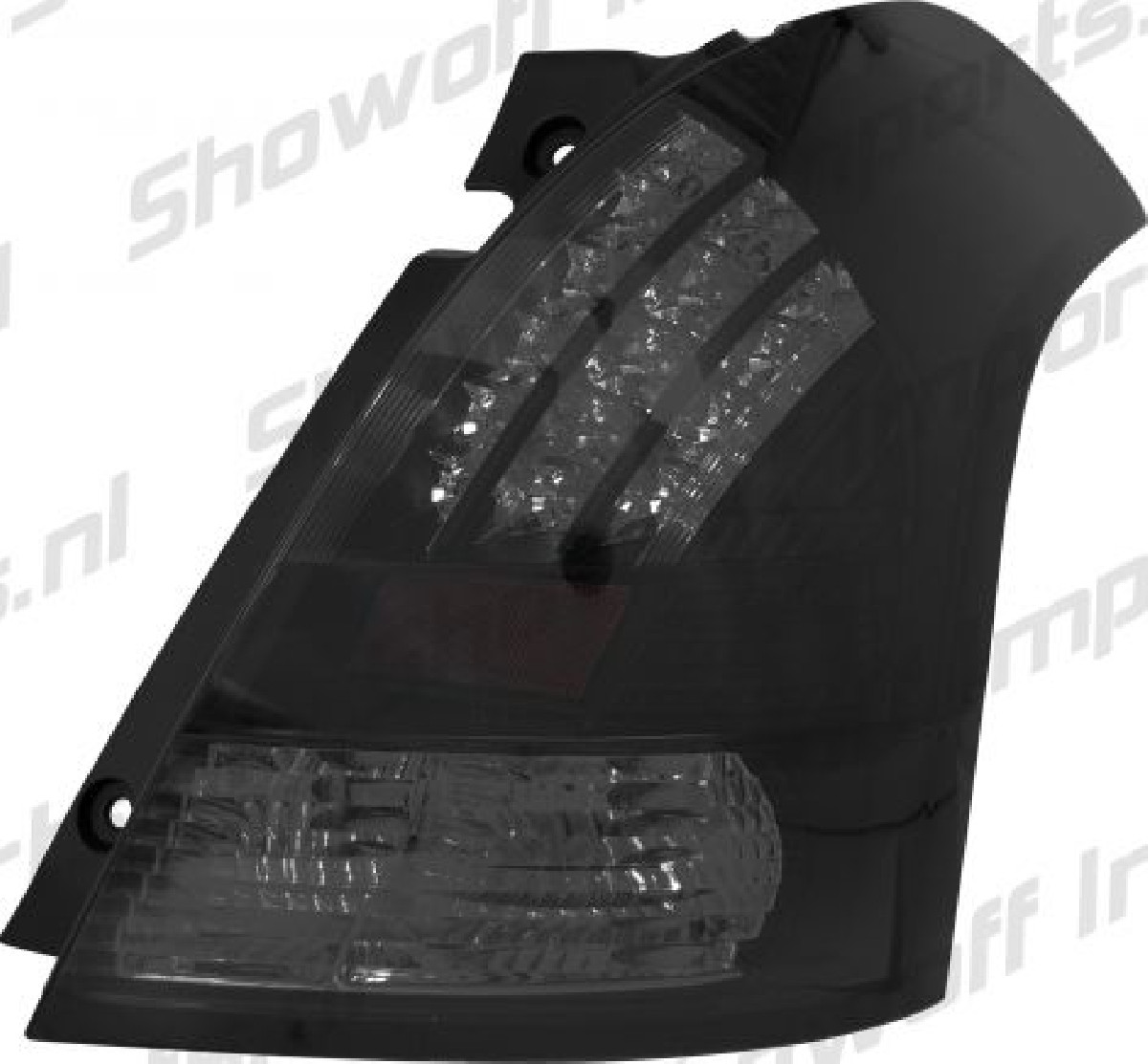 Suzuki Swift 05-11 LED Taillights Set Black