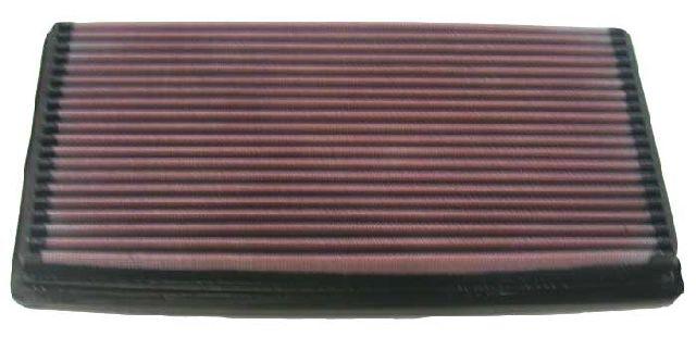 K & N Tauschluftfilter für Chevrolet Blazer 4.3i nur S-10 mit Plattenfilter