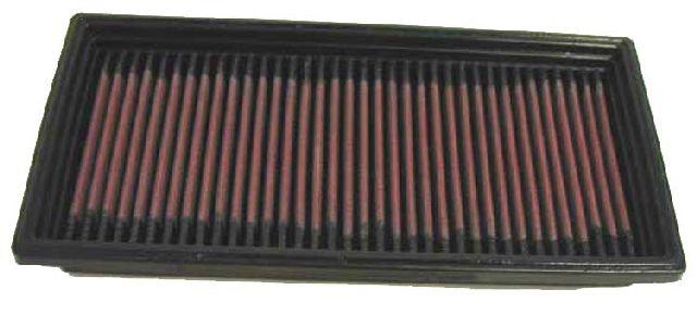 K & N Tauschluftfilter für Chrysler Voyager (GS) 2.0i