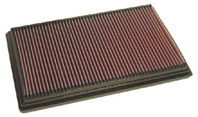 K & N Tauschluftfilter für Volvo S 80 2.0i Turbo